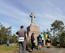 крест на острове Путсаари